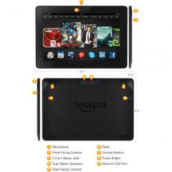 Spesifikasi Amazon Kindle Fire HDX 8.9 yang Diluncurkan September 2013