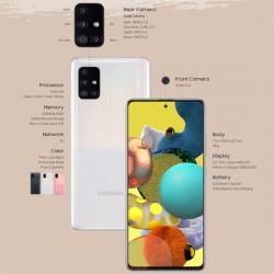 Spesifikasi Samsung Galaxy A51 5G yang Diluncurkan April 2020