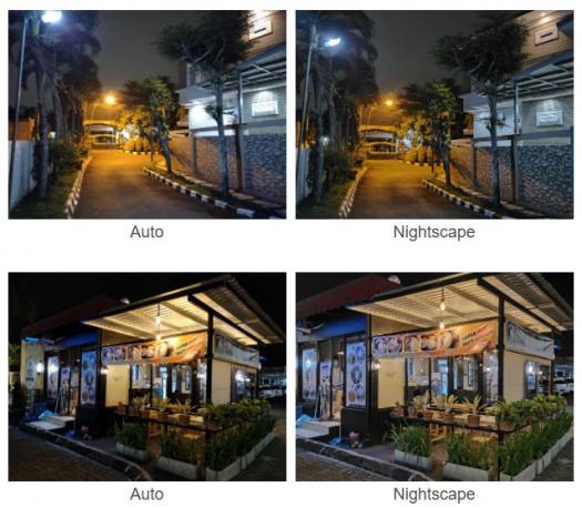 realme 5s Kamera Belakang Malam Jalan Auto