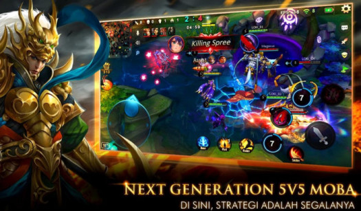 Legend of Kingdoms Sistem main