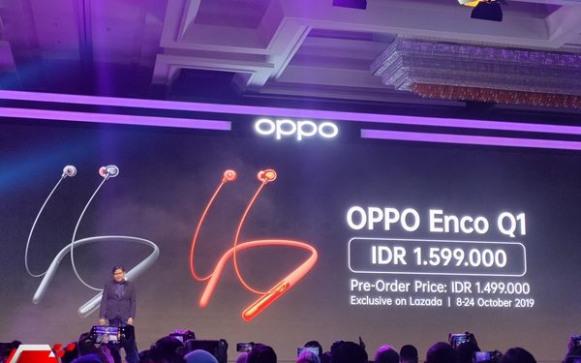 Headphone Oppo Enco Q1 dengan 3 Mode Audio 3D