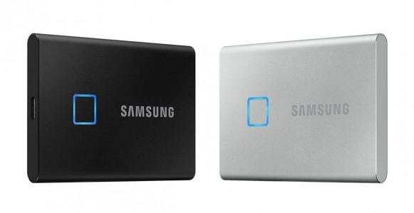 Samsung Luncurkan SSD External dengan Fingerprint Sensor