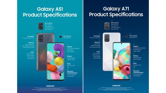 Lebih Dekat dengan Galaxy A51 dan Galaxy A71 yang Mendarat di Indonesia