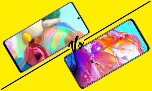 Samsung Galaxy A71 Vs Galaxy A70, Bawa Upgrade yang Signifikan!