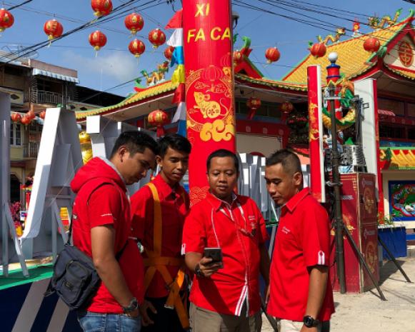 Jaringan 4,9G Telkomsel Kawal Perayaan Cap Go Meh 2020