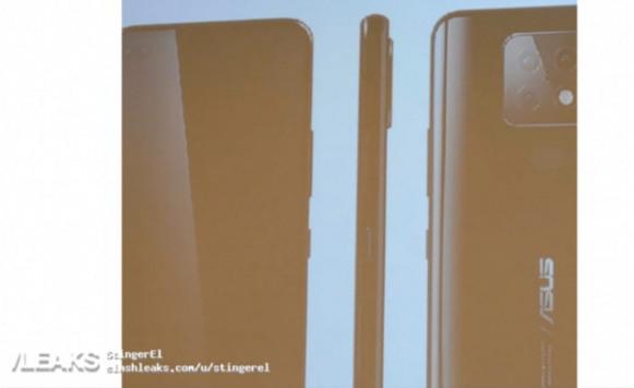Apakah Ini Tampilan Pertama ASUS Zenfone 7?