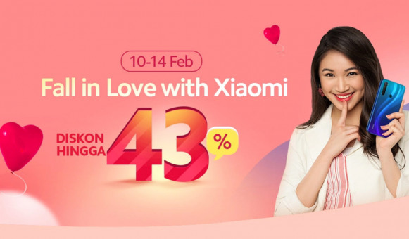 Promo Fall in Love with Xiaomi Tawarkan Diskon Produk Hingga 43 Persen